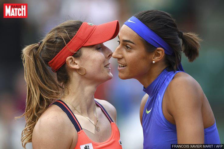 En route vers les quarts de finale : Caroline Garcia s'est imposée face à Alizé Cornet, lundi à Roland-Garros. Elle est la deuxième française à se qua...