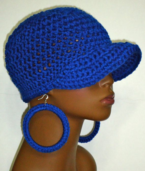 Hey, I found this really awesome Etsy listing at https://www.etsy.com/listing/89275143/royal-blue-crochet-snug-cap-hat-with