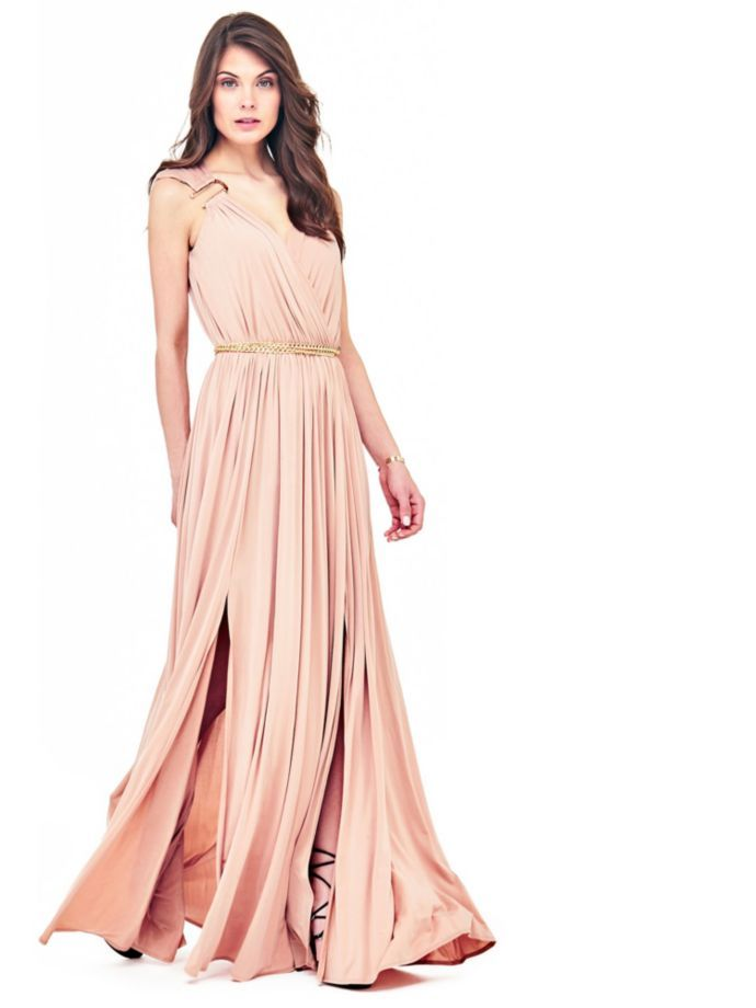 EUR299.00$  Buy here - http://viacy.justgood.pw/vig/item.php?t=avu9wb38542 - MARCIANO LONG DRESS