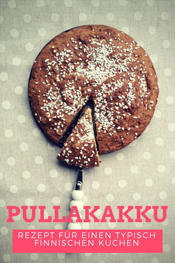 Pulla sind in Finnland ein beliebtes Gebäck. Der Pullakakku ist eine tolle Idee Pulla schnell als Kuchen genießen zu können.