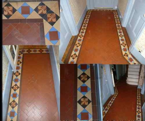 Original Reclaimed Victorian Floor Tiles Some Fleur De Lys Ebay Decor Ideas Pinterest