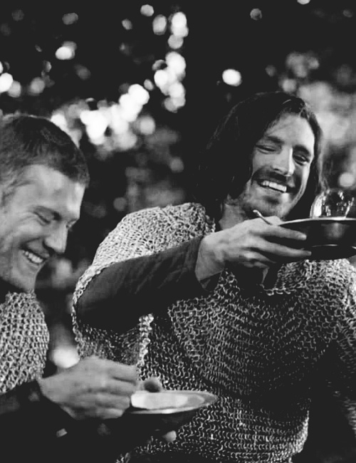 Gwaine and Percival