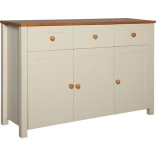 Haversham 3 Door Drawer Sideboard