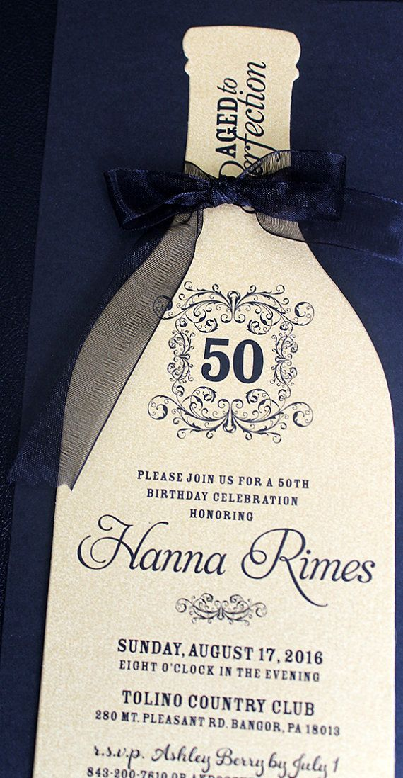 37 best Wine Bottle Invitations images on Pinterest | Invitation ...