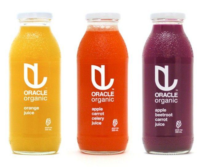 juice package design