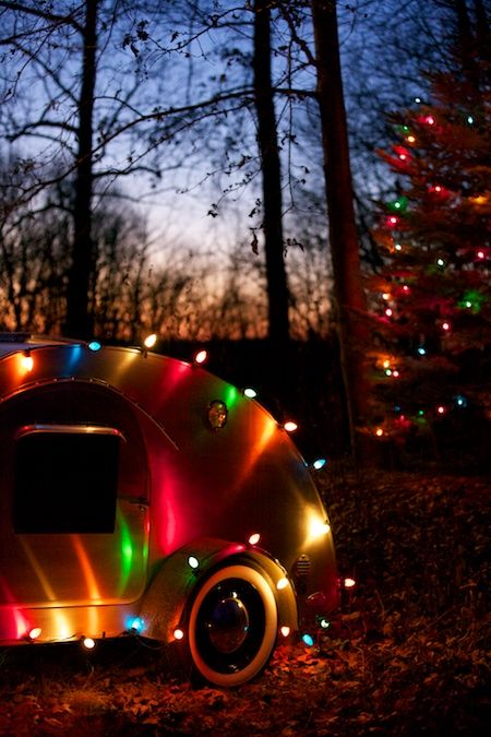51 Best Christmas Rvs Amp Campers Images On Pinterest