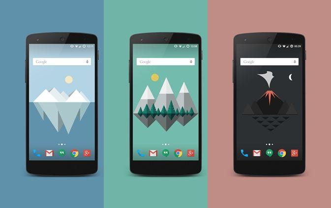 #android #livewallpaper #material design