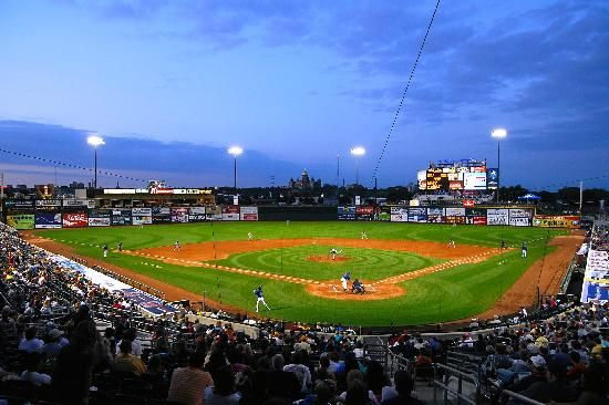Check out an Iowa Cubs minor league game at Principal Park!