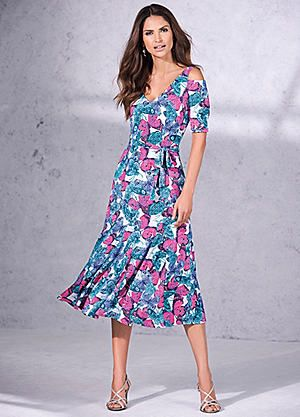 Butterfly Midi Dress#kaleidoscope