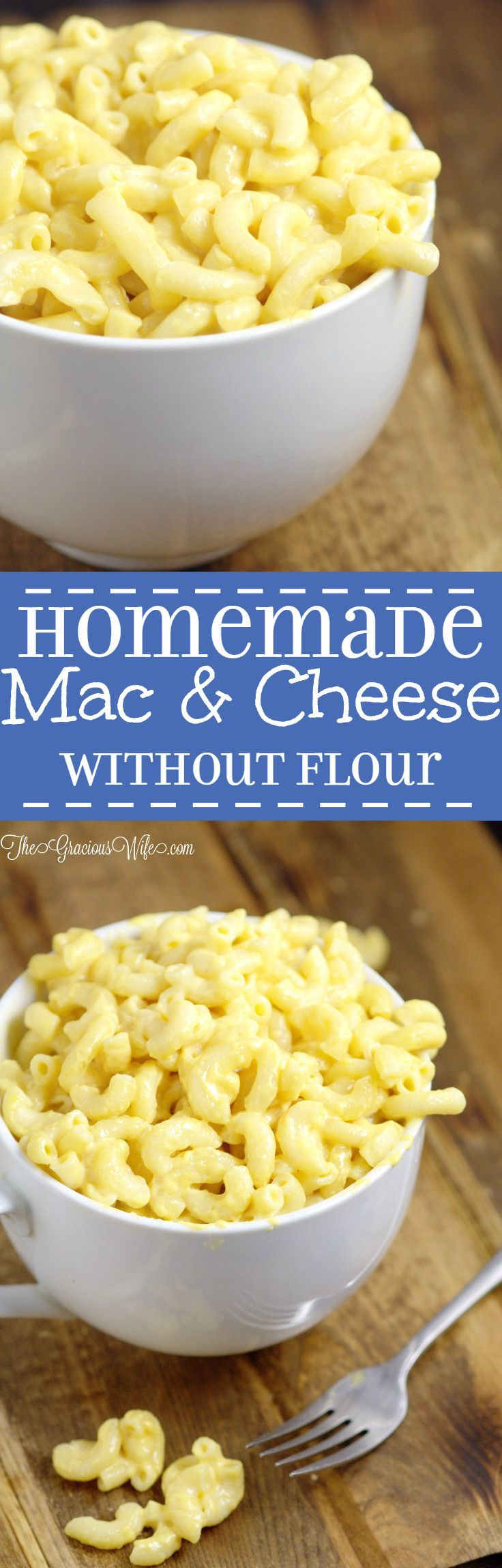 simple mac and cheese recipe without flour