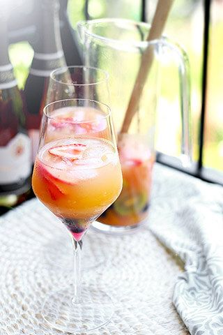 National Bubbly Day Cava Sangria - Powered by @ultimaterecipe