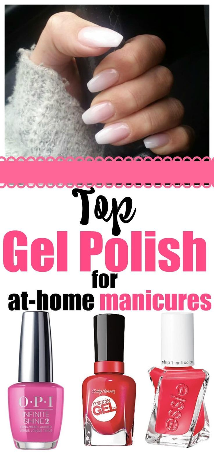 Top Gel Polish For At Home Manicures Best Picks Gel Nail Polish Brands Gel Manicure At Home Gel Manicure