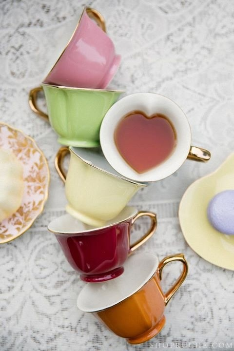Get these gorgeous tea cups from Steeped Tea