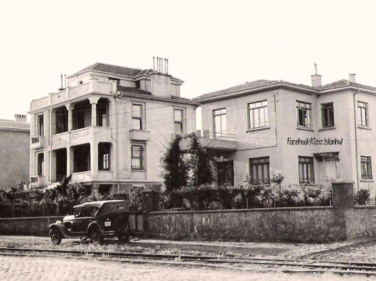 Suadiye Bağdat Street in 1930s