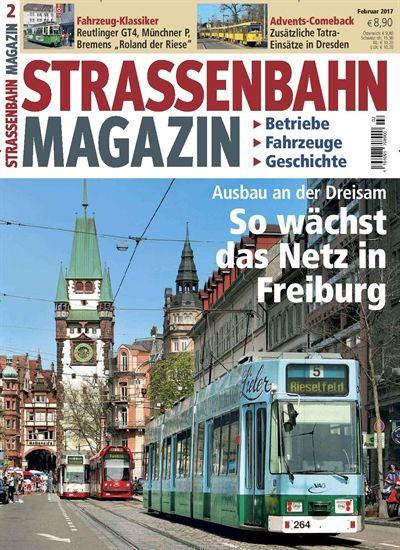 Ausbau an der #Dreisam: So wächst das #StraßenbahnNetz in #Freiburg 🚋🚋🚋 #VAG Jetzt in #Straßenbahn Magazin: