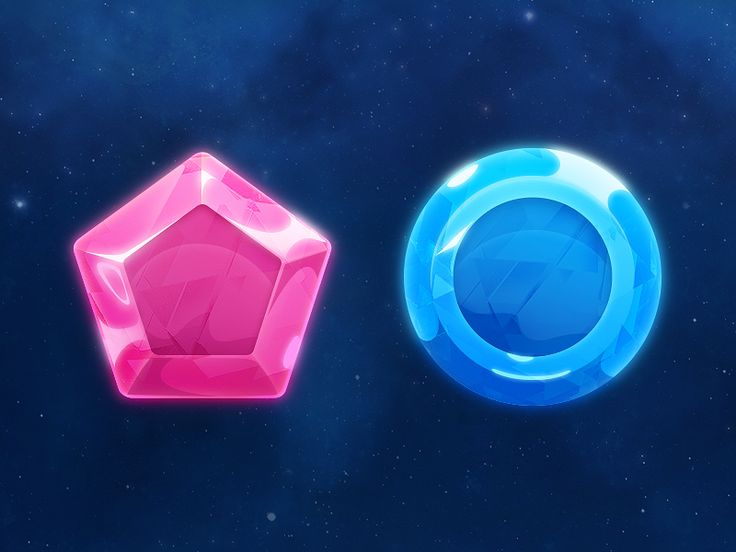 I'm working in a new game and I would like show this art concept of gems. I hope you like.
