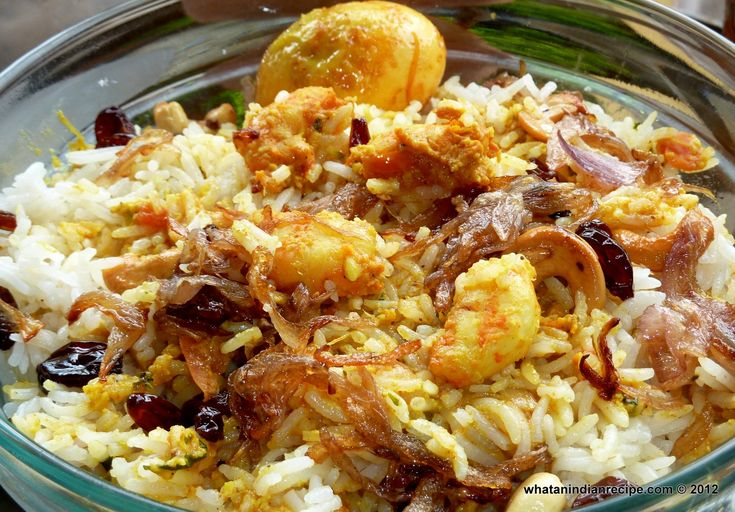 Malabar Prawn Biryani Recipe