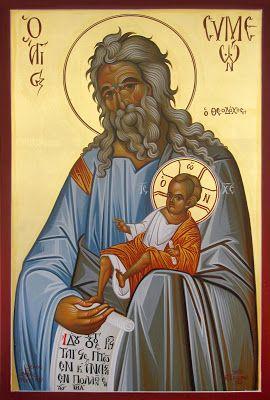 Ο Αγιος Συμεών ο Θεοδόχος