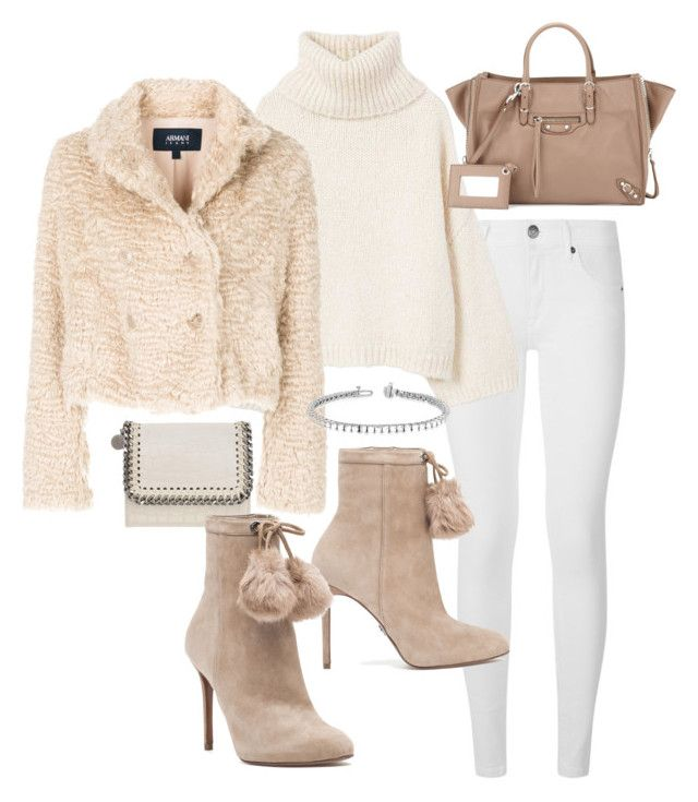 """Untitled #23093"" by florencia95 ❤ liked on Polyvore featuring STELLA McCARTNEY, Burberry, MANGO, Armani Jeans, Balenciaga and MICHAEL Michael Kors"