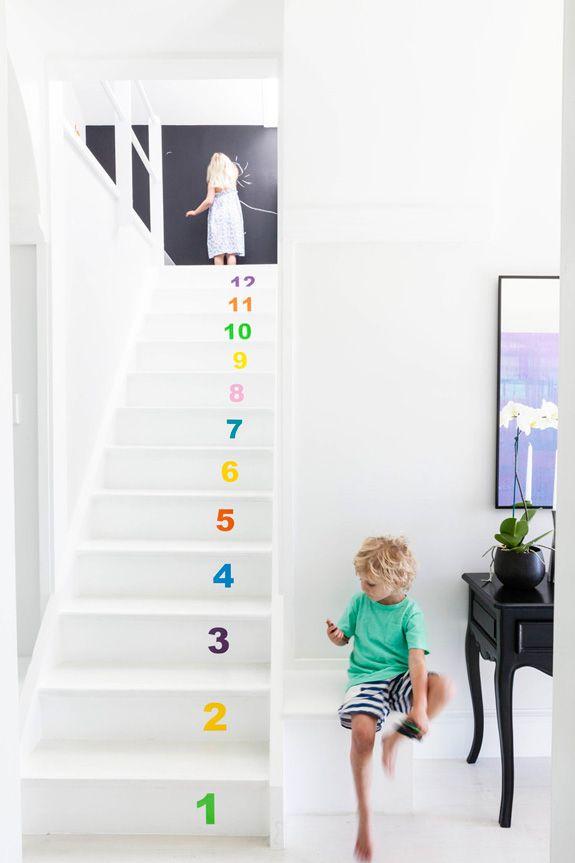 GETALLEN - Vooruit en achteruit tellen op de trap...