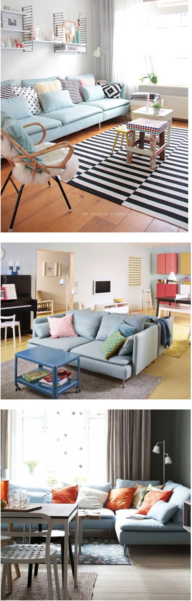 29 best ikea images on pinterest cabinets creative and decoration with sderhamn you can create a sofa that fits the way you relax there are lots of pieces to choose from and the deep seats and moveable back cushions parisarafo Image collections