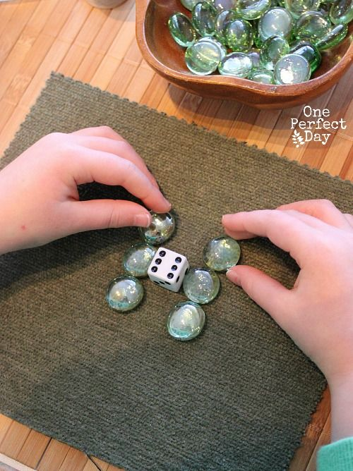 Reggio inspired math play