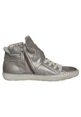 Sneakers hoog - zilverkleurig