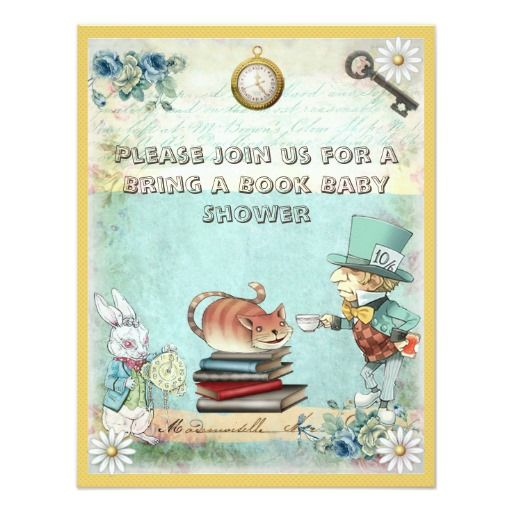 322 best Book Themed Baby Shower Invitations images on Pinterest