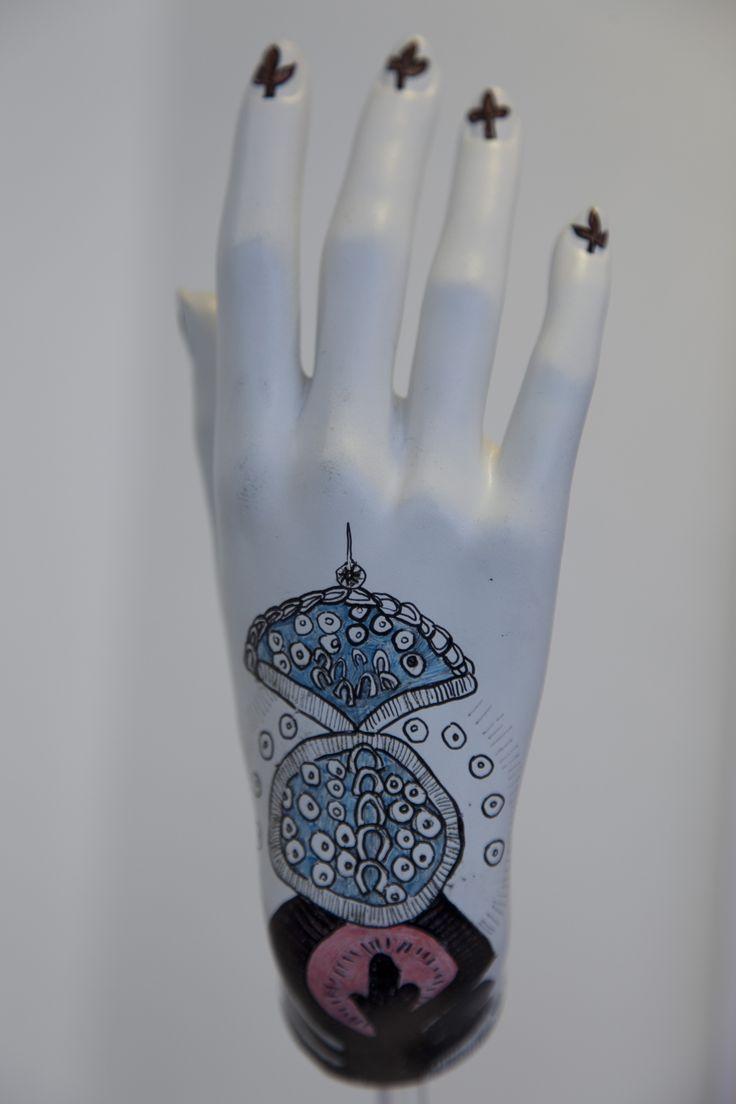 Mannequin Hand Historical Glove