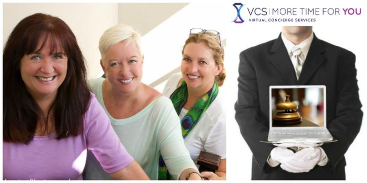 Dawn Beech, Rose Chaplin &Rachel Staddon, founders Virtual Concierge Services (South Africa)