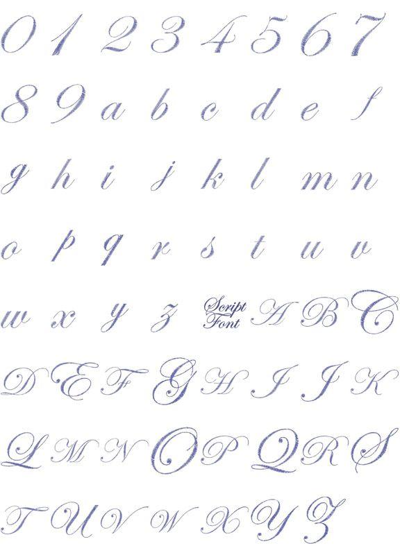 Free Embroidery Font Downloads | FREE MACHINE EMBROIDERY FONT LETTERING - Embroidery Designs