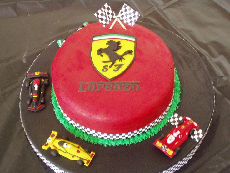 Torta Ferrari Tortas By Greisis Pinterest Ferrari