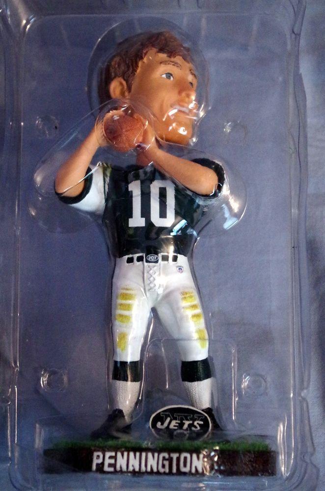 Chad Pennington New York Jets Quarterback Legends of The Field Bobble Bobblehead   eBay