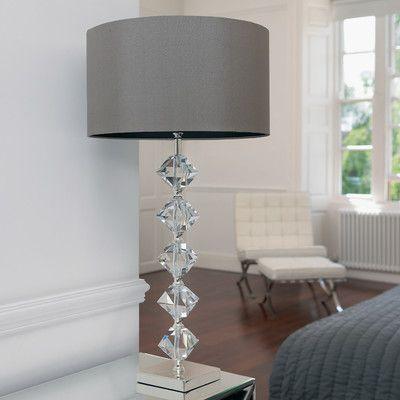 Endon Lighting Grey Table Lamp & Reviews   Wayfair UK