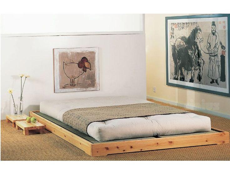 Cama tatami de madera maciza NOKIDO by Cinius