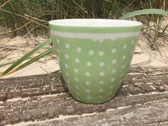 GreenGate Latte Cup Spot Green