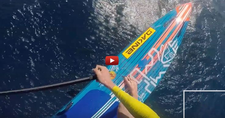 Great first person view of what it's like to cruise above the water on the new…