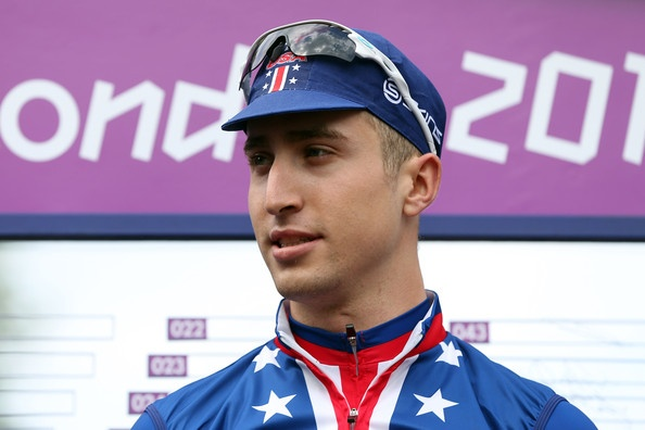 Taylor Phinney of the United States  finished up 4th in the Men's Olympic Road Race.