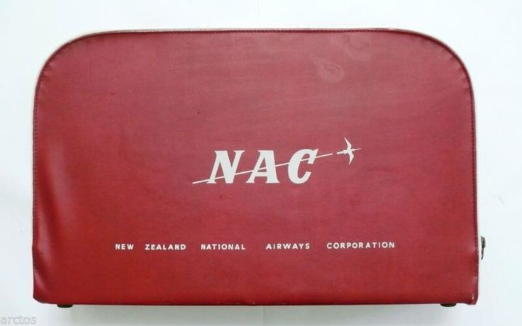 1960's NAC Vinyl Airline Case