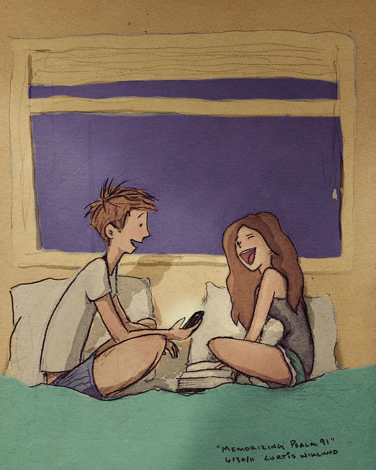 Jordin and Me. Artist draws most adorable pictures of his life with his wife Jordin!!XD