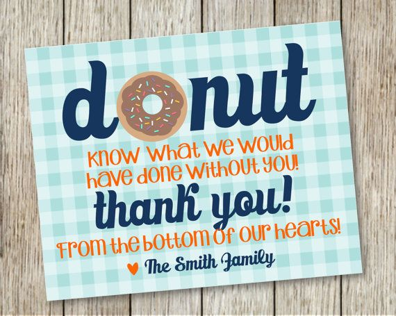 Printable THANK YOU for labor and delivery by ...