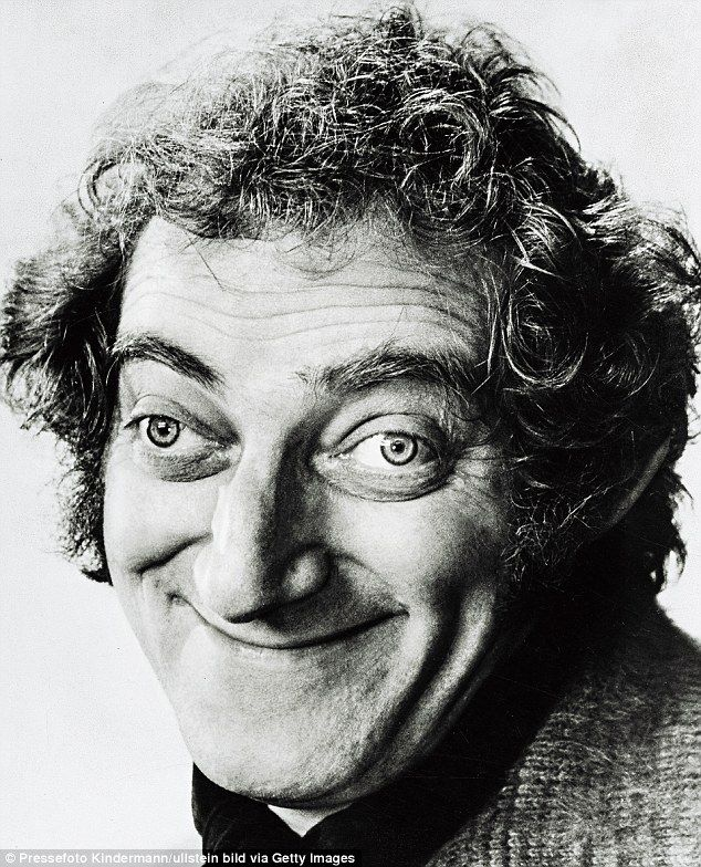 'My face reflects the disasters of my life so far. My eyes are the by-product of a thyroid condition, perhaps brought on by an accident when a boy stuck a pencil in my eye at school,' said Marty Feldman