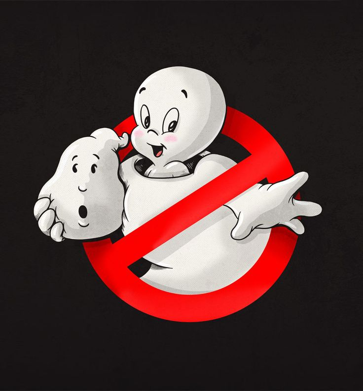 Icons Unmasked #Casper meets #Ghostbusters