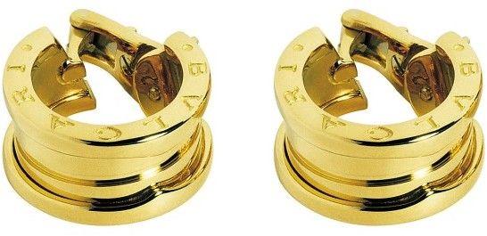 Bulgari Bvlgari BZero1 18K Yellow Gold Earrings OR851273