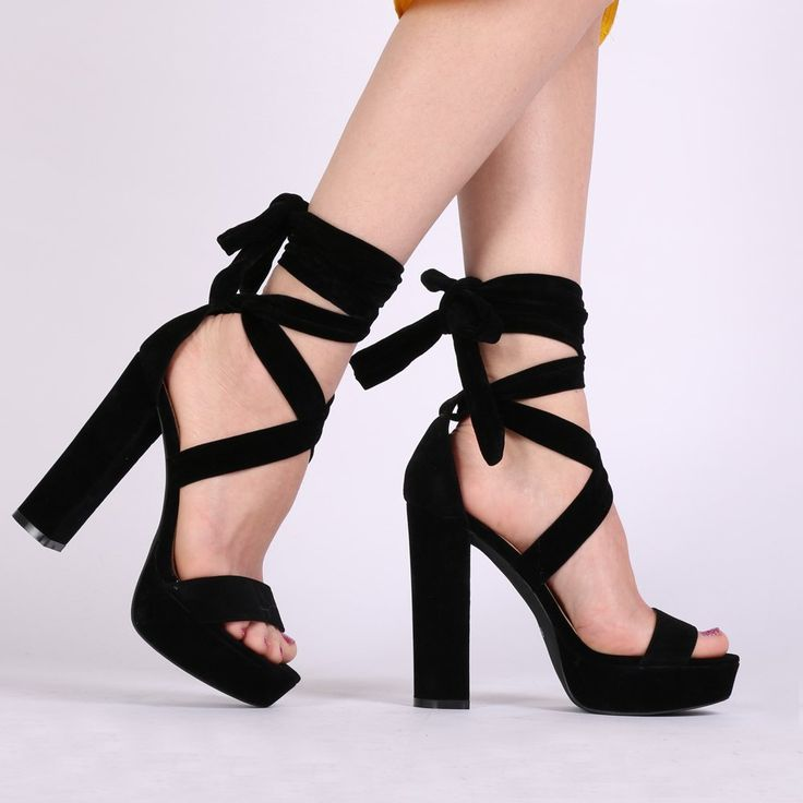 Angle Strap Stylish Shoes  Inch Heels