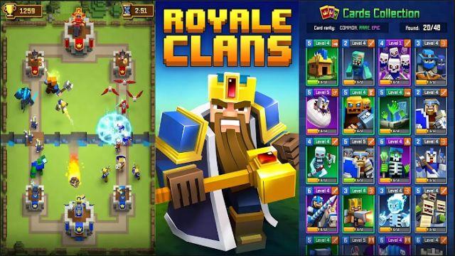 Download Royale Clans Clash of Wars Mod Apk Terbaru Gratis