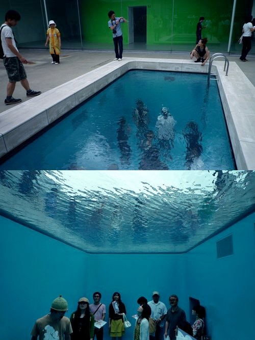 so cool. #pool #art: Water, Pools Worldwide, Ideas, Swimming Pools, Favorite Places, Stuff, Art, Photo, Awesome Pools