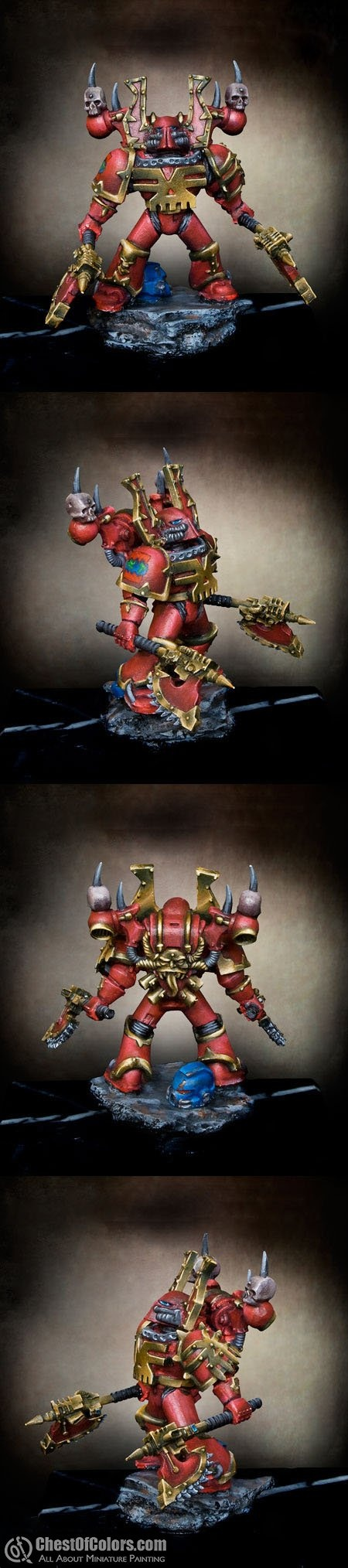 Games workshop colorado - Khorne Bezerker Champion Painted And Converted By The Chest Of Colors Team The Chest May Game Workshopwarhammer
