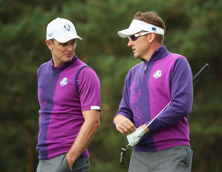 Ian and Justin Rose - Day 1 of the Ryder Cup 2014