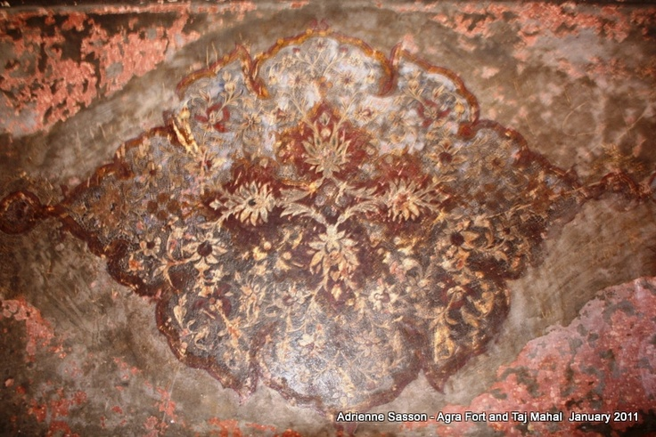 Wall carvings in #AgraFort, #Agra, #India: Wall Carvings, Agra India